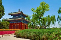 Pavilion of Extreme Happiness, Beihai Park, Beijing, People´s Republic of China