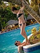pareja en Punta Cana, República Dominicana