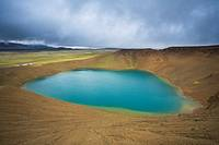 Leirhnjukur Crater, Krafla Volcano Caldera, Iceland