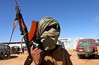 Saharan soldier