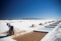 Great salt lake, Jujuy, Argentine