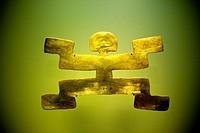 Pre-Columbian artefact, Museo de Oro, Gold Museum, Bogota, Colombia