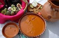 Mole sauce. Zacatecas. Mexico