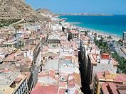 aerial views, Alicante Spain