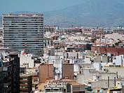 aerial views, Alicante, Spain