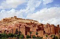 Kasbah of Aït Benhaddou in Ouarzazate  Morocco