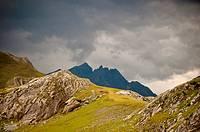 Cordillera Pirenaica zona Formigal, Huesca, España.