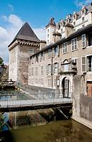 Chateau de Pau in Atlantic Pyrenees. France