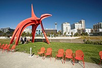 Olympic Sculpture Park is a public park in Seattle, Washington