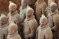 Terra Cotta Warriors in Xi´an China