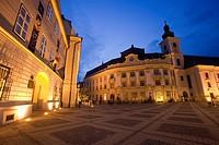 Mare squre  Sibiu  Transylvania  Romania