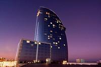 Hotel W Barcelona  Hotel Vela  Arquitecto: Ricardo Bofill  España, Catalunya, Barcelona