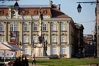 Unirii square  Timisoara  Romania