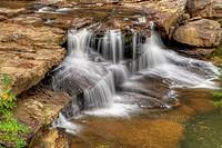Waterfalls at Babcock State Park, West Virginia