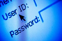 Username and password security on a website