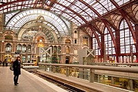 Central Station at Antwerpen