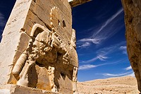 Archaeological ruins of Persepolis  Iran, Asia