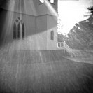 Abstract View of Small Country Church