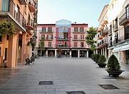 -´Spain Square´ in Cambrils- Tarragona(Spain).