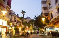 Rue du Prince Moulay Abdellah, Casablanca, Morocco, Africa