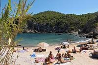 Cala in Ibiza (Spain)