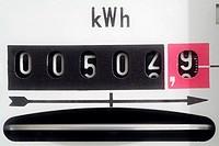 Electric Meter, Close Up