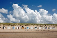Beach Huts, Texel Island, Holland
