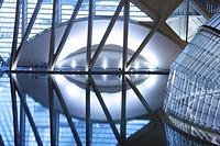 City of Arts and Sciences by Santiago Calatrava, Valencia. Comunidad Valenciana, Spain