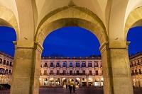 Plaza Nueva, Vitoria, Alaba, Basque Country, Spain