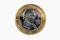 1-Euro coin from Austria