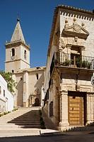 El Salvador church and  manor, La Roda, Albacete province, Castilla-La Mancha, Spain