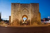 Toledo Gate, Ciudad Real, Ciudad Real Province, Castilla la Mancha, Spain