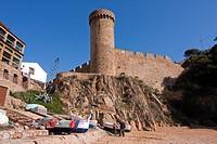 Tossa de Mar  España, Catalunya, provincia de Girona, la Selva, Tossa de Mar