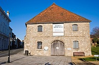 The former medieval Wool House. Southampton Maritime Museum. Corner of Bugle Street and Town Quay. Southampton. Hampshire. England. UK.