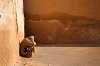 Man in the medina, Meknes, Morocco