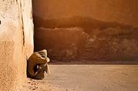 Man in the medina, Meknes, Morocco
