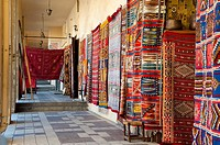 Rugs store, Meknes, Morocco