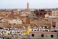 City view, Oujda, Oriental region, Morocco