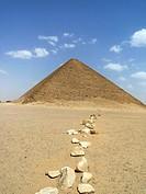 Pirámide roja de Dashur, El Cairo, Egipto
