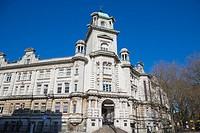 Park Building. University of Portsmouth. King Henry I Street. Portsmouth. Hampshire. England. UK.