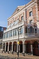 New Theatre Royal. Opera House. Guildhall Walk. Portsmouth. Hampshire. England. UK.