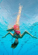 Jenna Randall, Great Britain synchronised swimming solo and duet competitor is expected to pick up a medal in the 2010 Commonwealth Games in Dehli  Je...