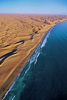 Coastal dunes at Sandwich Bay, Namibia
