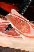 Cured ham slice, Loncha de Jamón curado ibérico bellota paletilla,