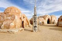 Filming locations for the George Lucas´s ´Star Wars´ movies, Chott el Djerid, Tunisia