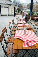 Typical restaurant, Munich, Bavaria, Germany