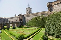 Montjuic Castle, Barcelona, Catalonia, Spain