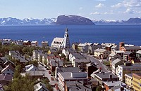 Norway, Finnmark, Hammerfest, The Northermost city of the world
