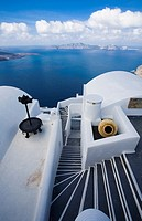 Thira (Fira). Santorini. Cyclades Islands. Greece.