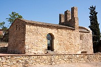 Iglesia de Sant Julià de Boada  Prerrománica  Mozárabe  Siglo X  España, Catalunya, provincia de Girona, Baix Empordà, Palau-sator